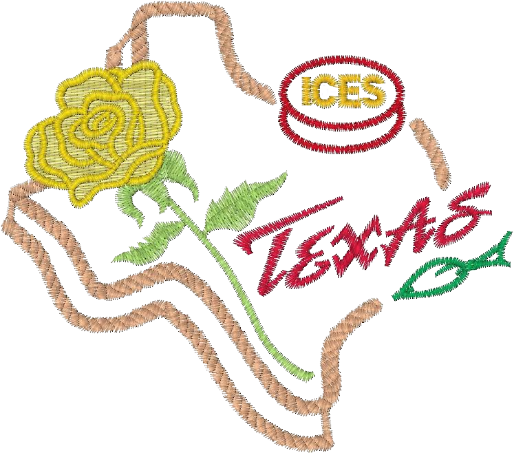 Embroidered TX Logo